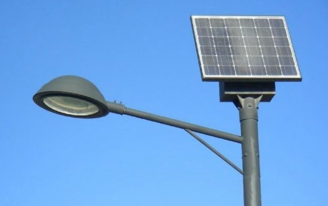 Lampadaire solaire LU-518