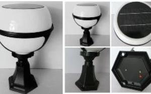 LU 2012 - Lampe solaire autonome pour piliers et poteaux