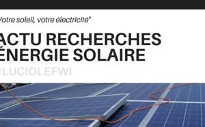 Recherches et développements de l'énergie solaire